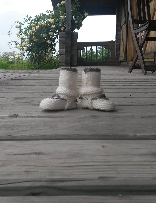 Chaussons et guêtres bébé