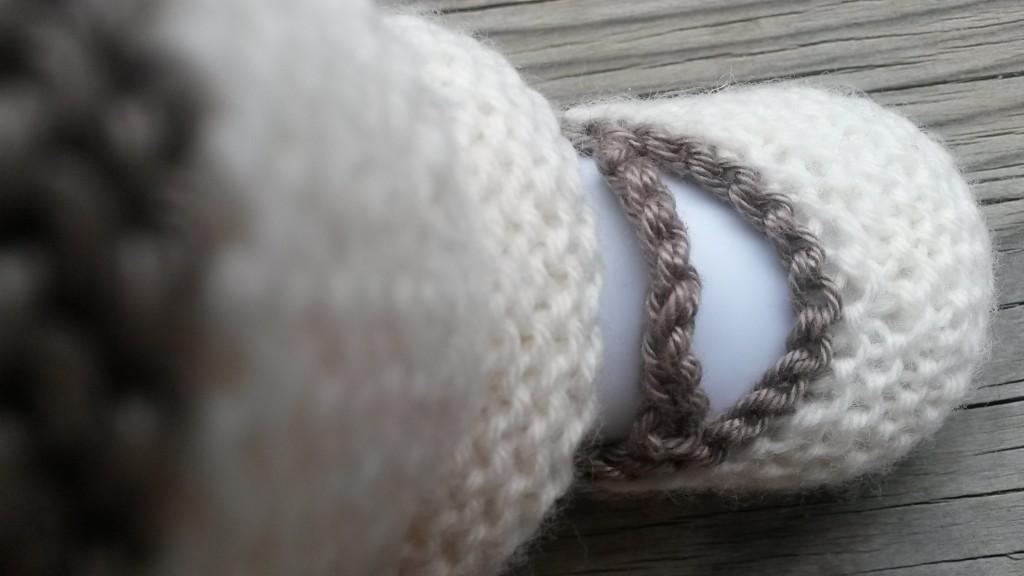 Chaussons et guêtres bébé - zoom