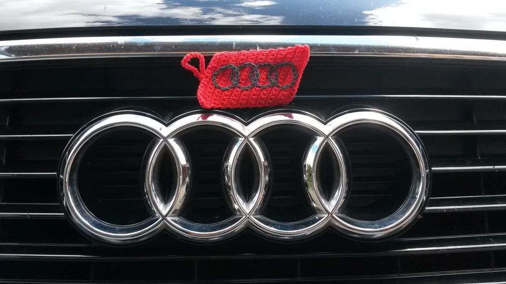 Porte-clés Audi au crochet - vue d'ensemble