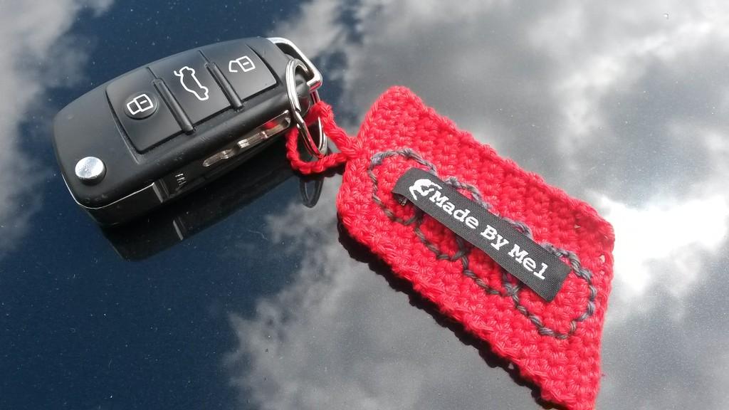 Porte-clés Audi au crochet - Made By Mel