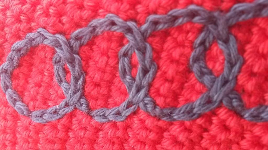 Porte-clés Audi au crochet - zoom