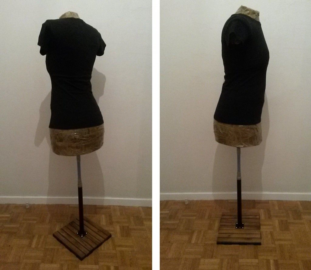 Faire un buste de couture - étape 5bis