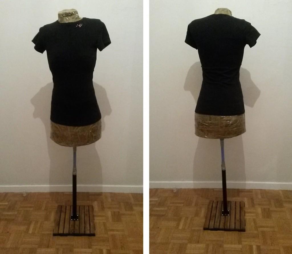 Faire un buste de couture - étape 5