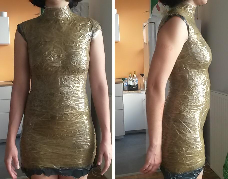 Faire un buste de couture - étape 1