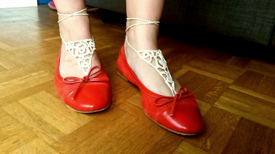 bijoux de pieds ballerines