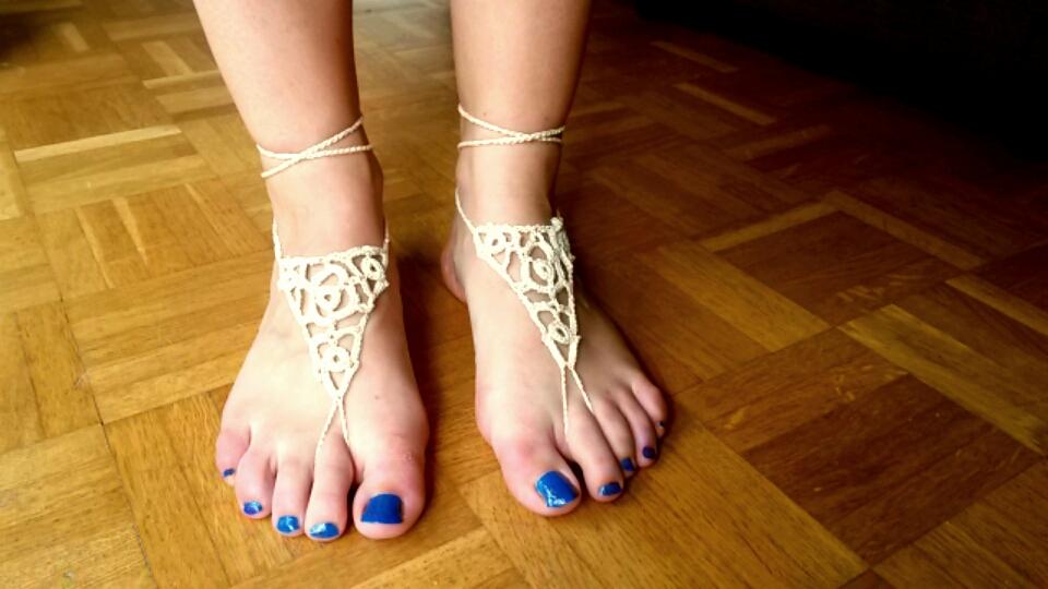 bijoux de pieds nus