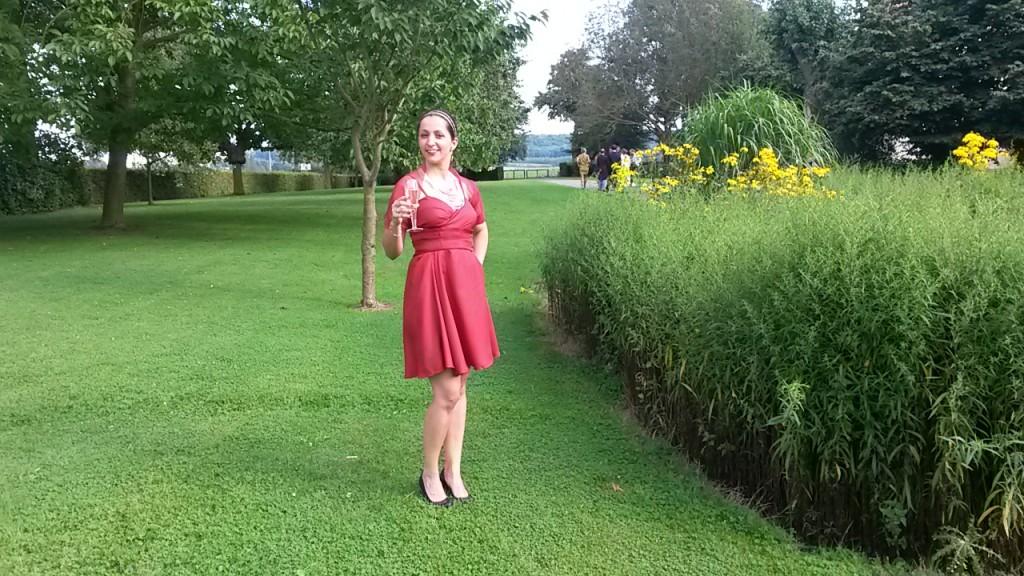 robe de soirée mariage face