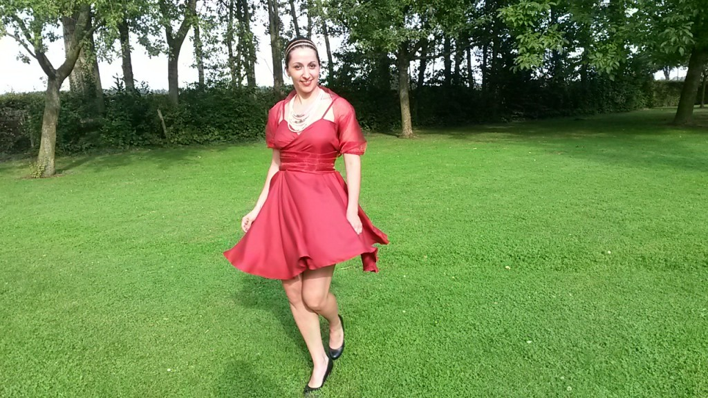 robe de soirée mariage face tourne