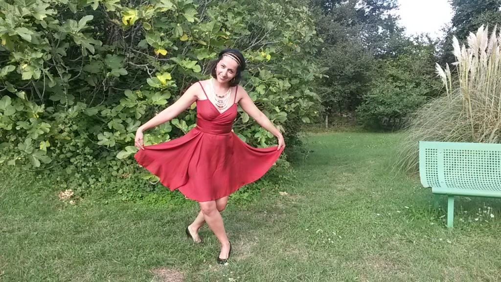 robe de soirée mariage révérence