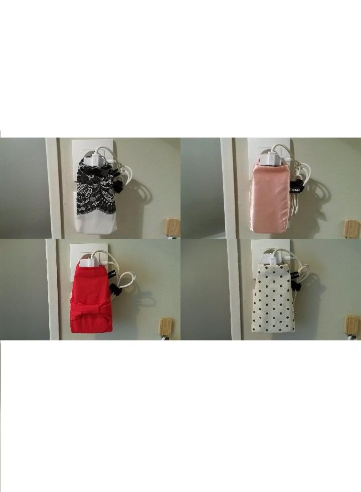 pochettes porte téléphone en charge