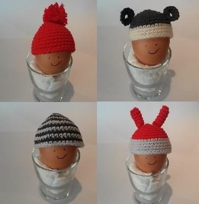 Bonnets pour oeufs