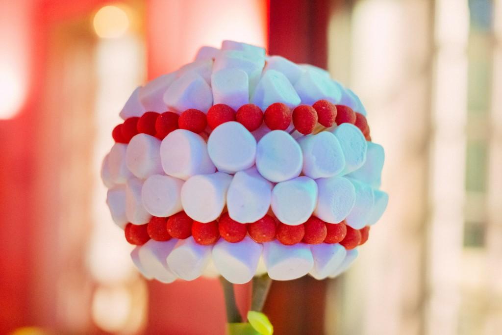 DIY centre de table en bonbons