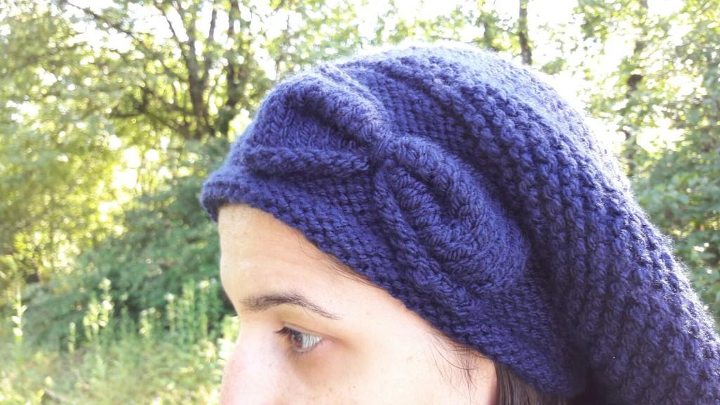 Bonnet solidaire - Nœud