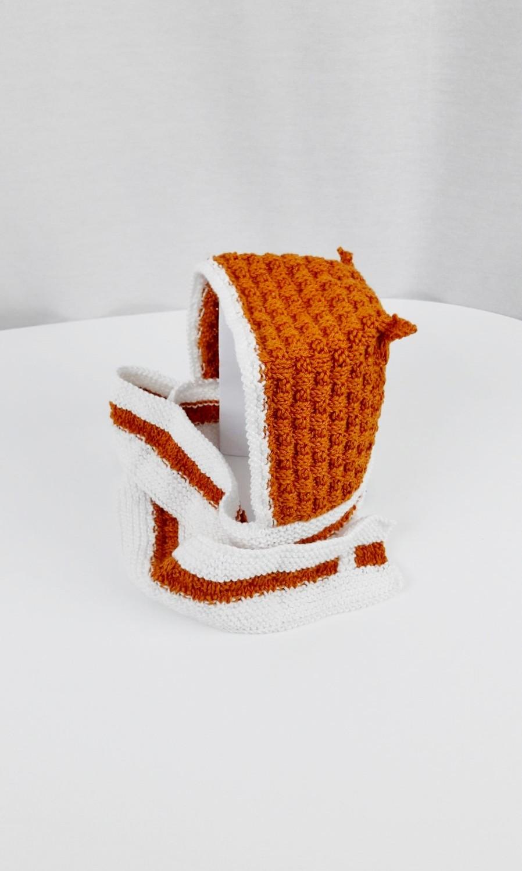 Bonnet écharpe 2 en 1 bébé - Made By Mel (6)