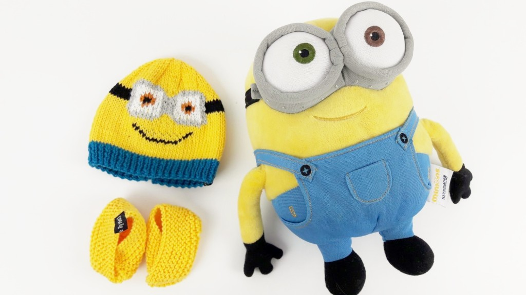 Tricot bonnets Minions - Made By Mel (1)