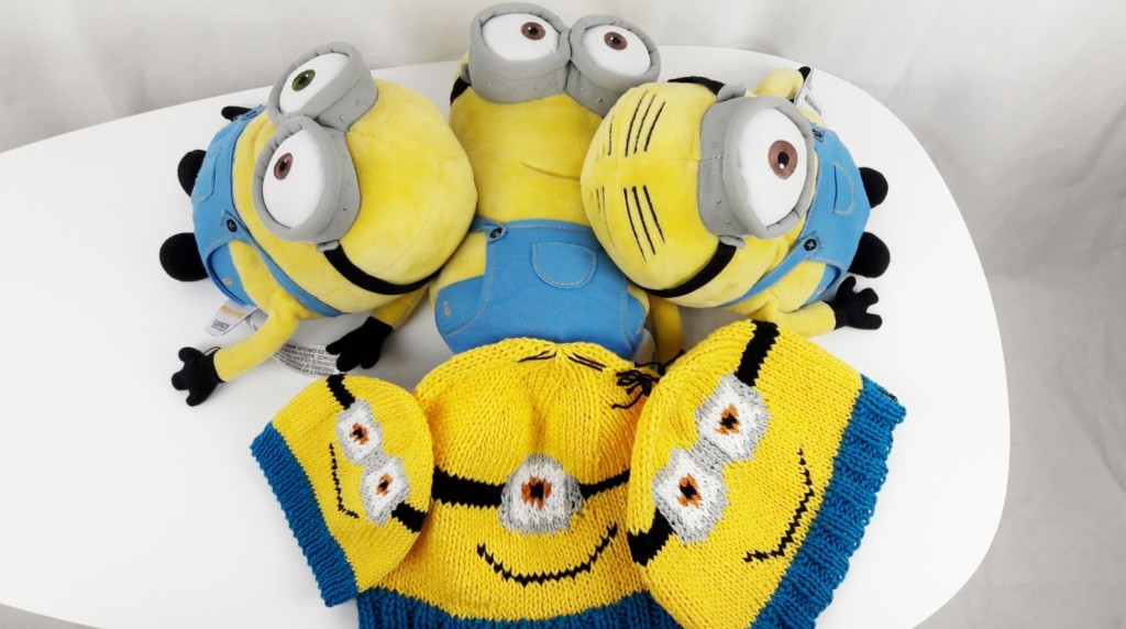 Tricot bonnets Minions - Made By Mel (3)
