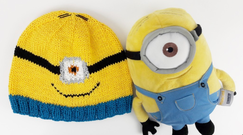 Tricot bonnets Minions - Made By Mel (5)
