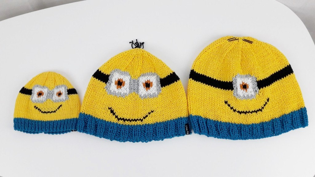 Tricot bonnets Minions - Made By Mel (7)