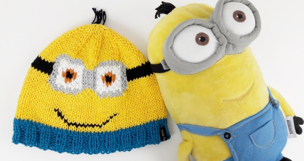 Tricot bonnets Minions - Made By Mel (9)
