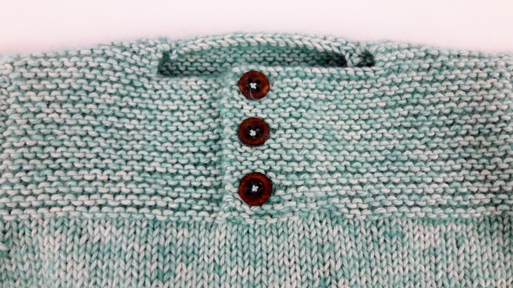 Tricot pull bébé et chaussons - Made By Mel (4)