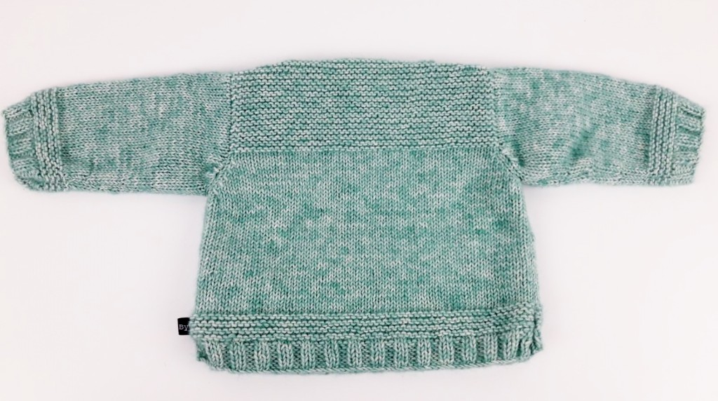 Tricot pull bébé et chaussons - Made By Mel (5)