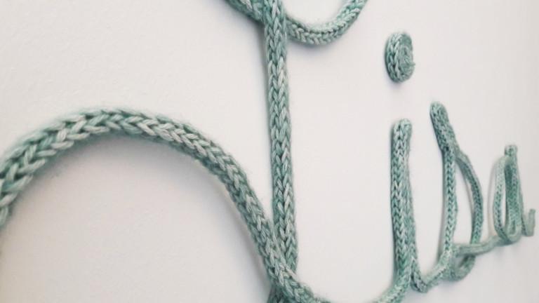 Prénom en tricotin - Made By Mel (c)