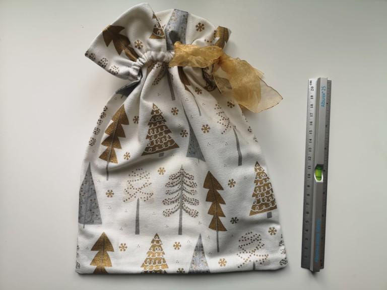 Pochette cadeau réutilisable écologique